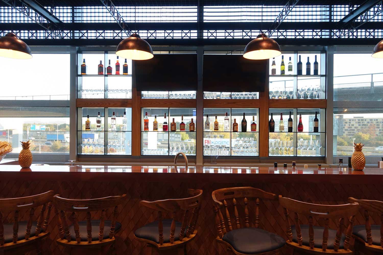 Primeclass Lounge Frankfurt bar