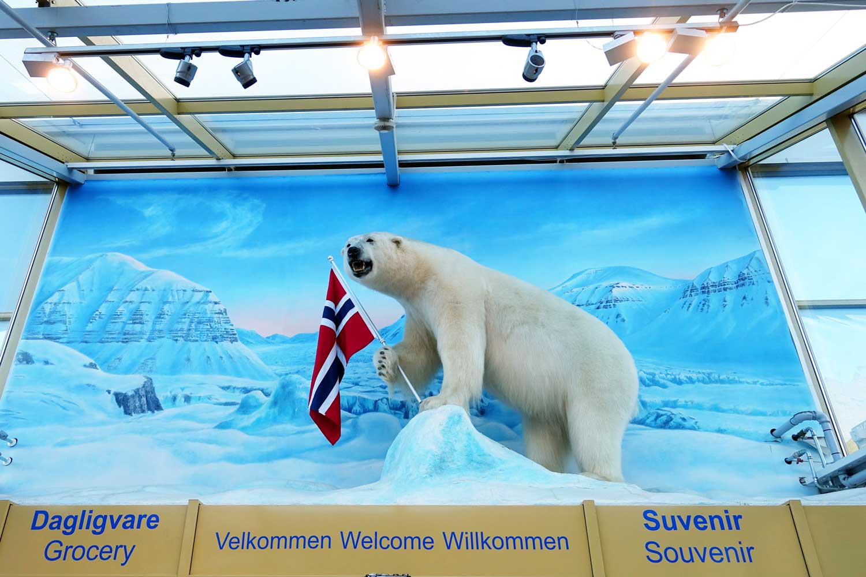 Svalbard Hotel - polar bear