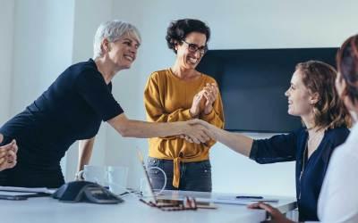 Should leaders reintroduce the handshake?