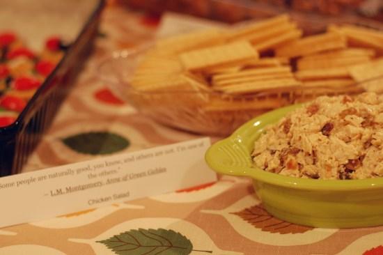 2. Chicken salad