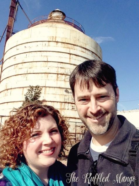 28. K and J at Magnolia silos