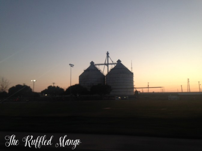 40. Magnolia Silos at sunset