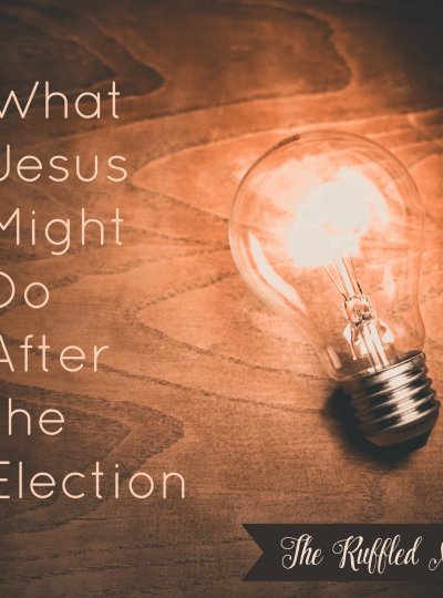 What Jesus Might Do after the Election