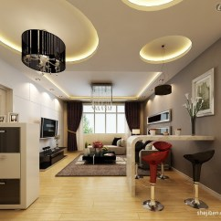 Ceiling Designs For Living Room Glass Door Cabinets Look Up 10 Inspirational The Home Well Lit Lights In A Modern