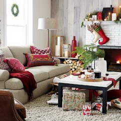 Ideas For Decorating Your Living Room Christmas Curtain Style In Celebrate 16 Ways To Make Home Feel Festive Graphic