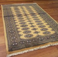 Bokhara Rugs in Gold - Free UK Delivery - The Rug Seller