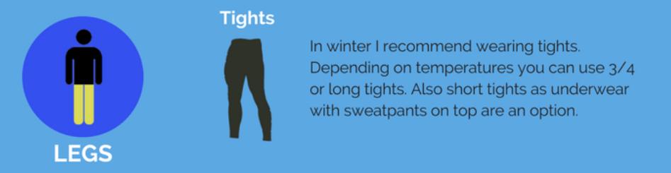 Leg clothes