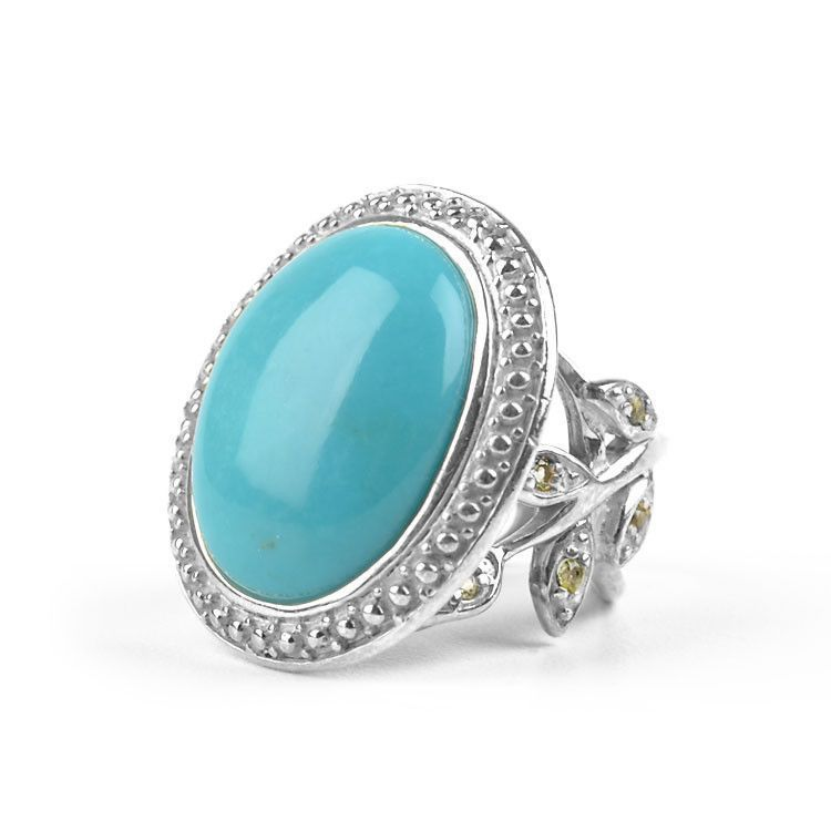 Turquoise Rings Unique Turquoise Cocktail Ring
