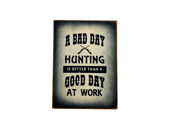 A Bad Day Hunting