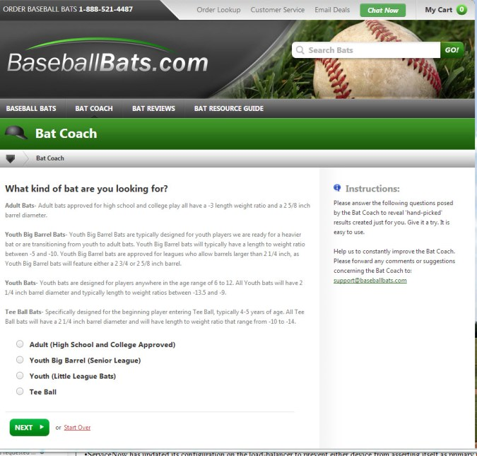 Bat Coach on Baseballbats.com