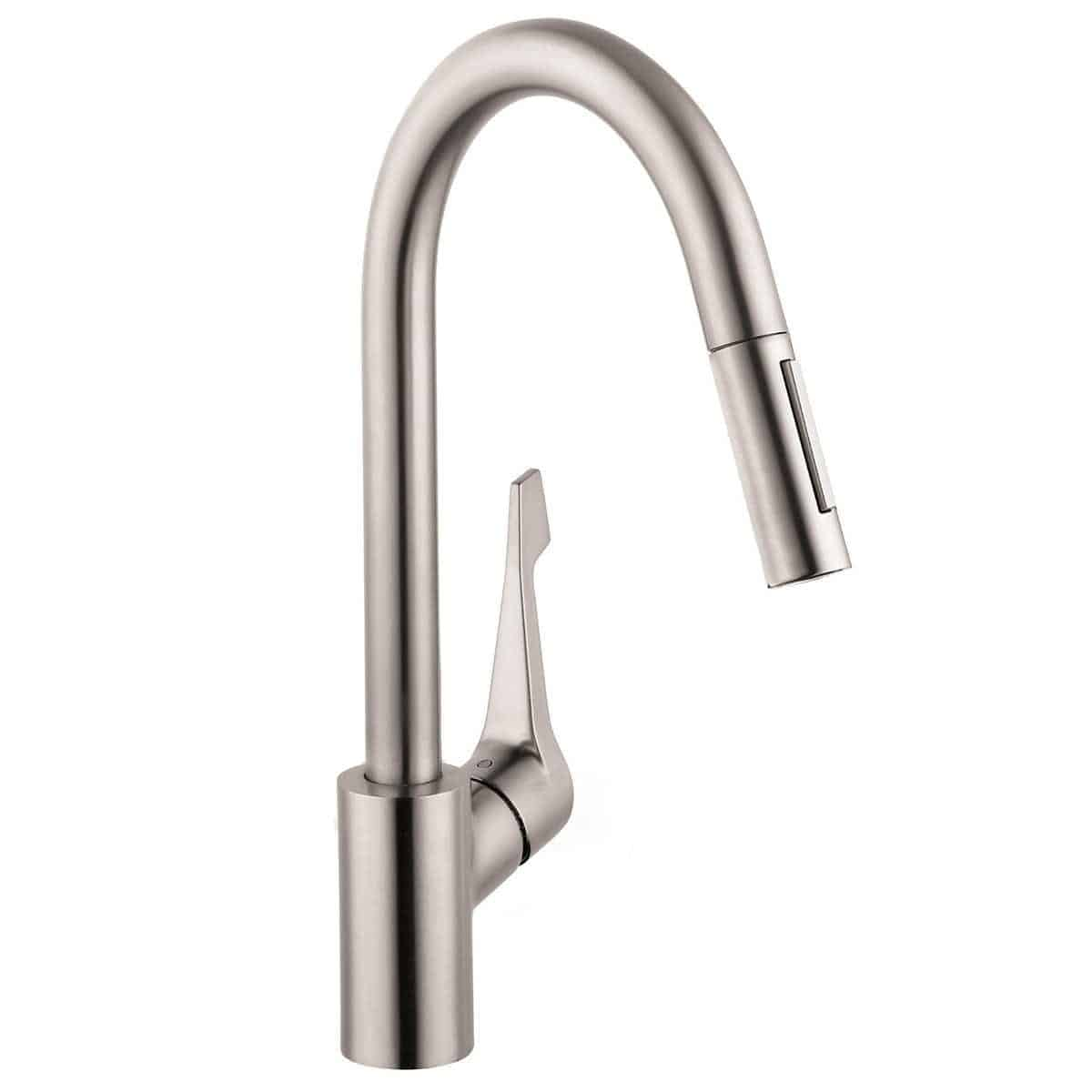 hansgrohe kitchen faucet upholstered chairs with casters cento thervgeeks