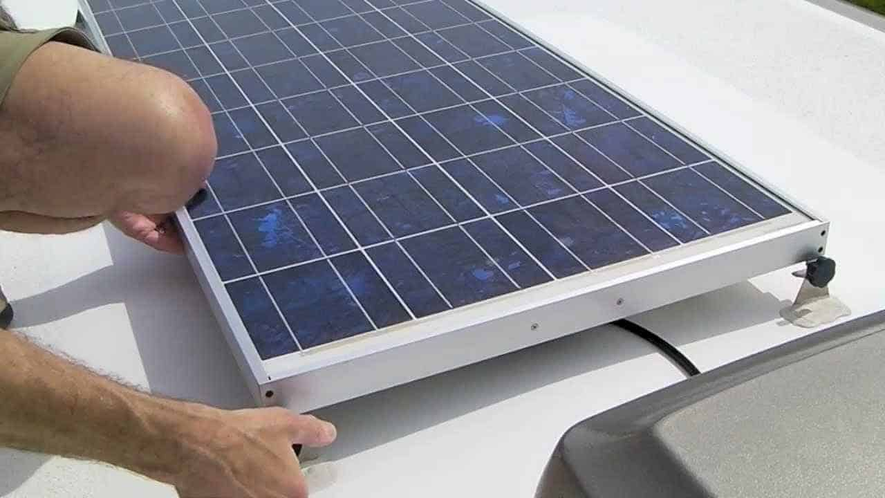 Rv Solar Panel Installation Overview Thervgeeks