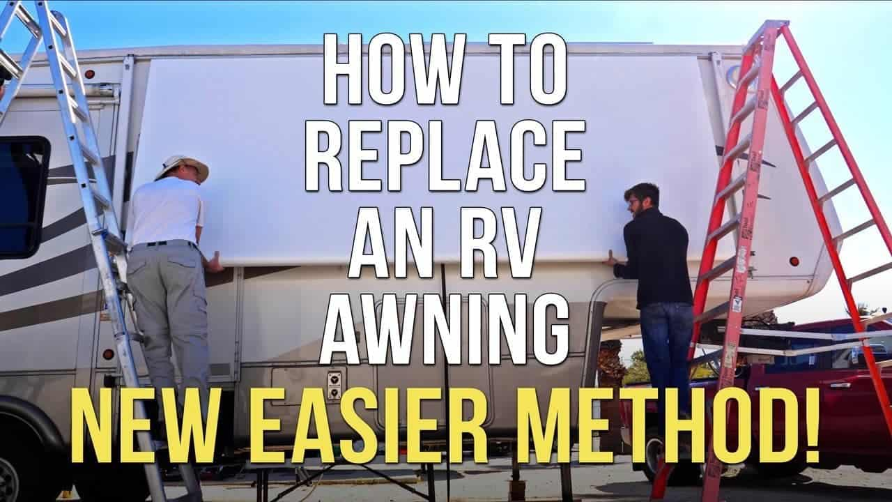 How to Replace RV Patio Awning Fabric – Dometic A&E – New EASIER Method