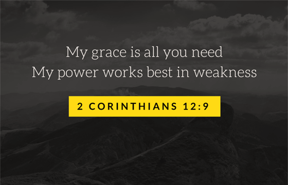 Grace is all you need