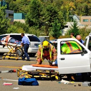 collision scene – The Safe Driver