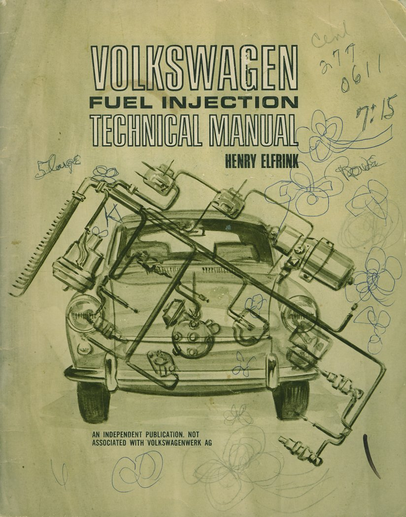 hight resolution of vw fuel injection technical manual henry elfrink henry elfrink automotive 1969 edition covers type 3