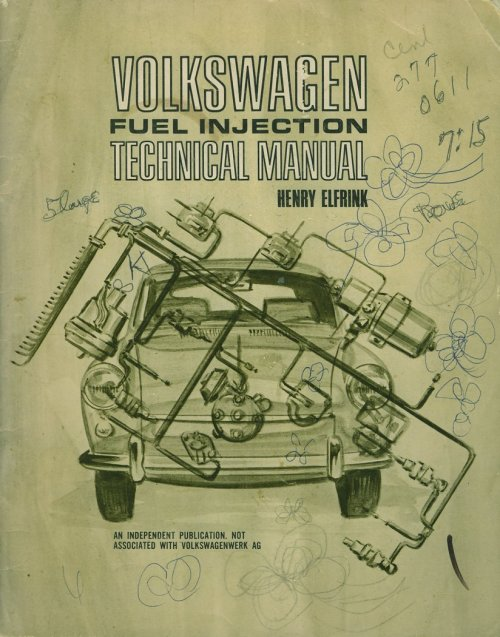 small resolution of vw fuel injection technical manual henry elfrink henry elfrink automotive 1969 edition covers type 3