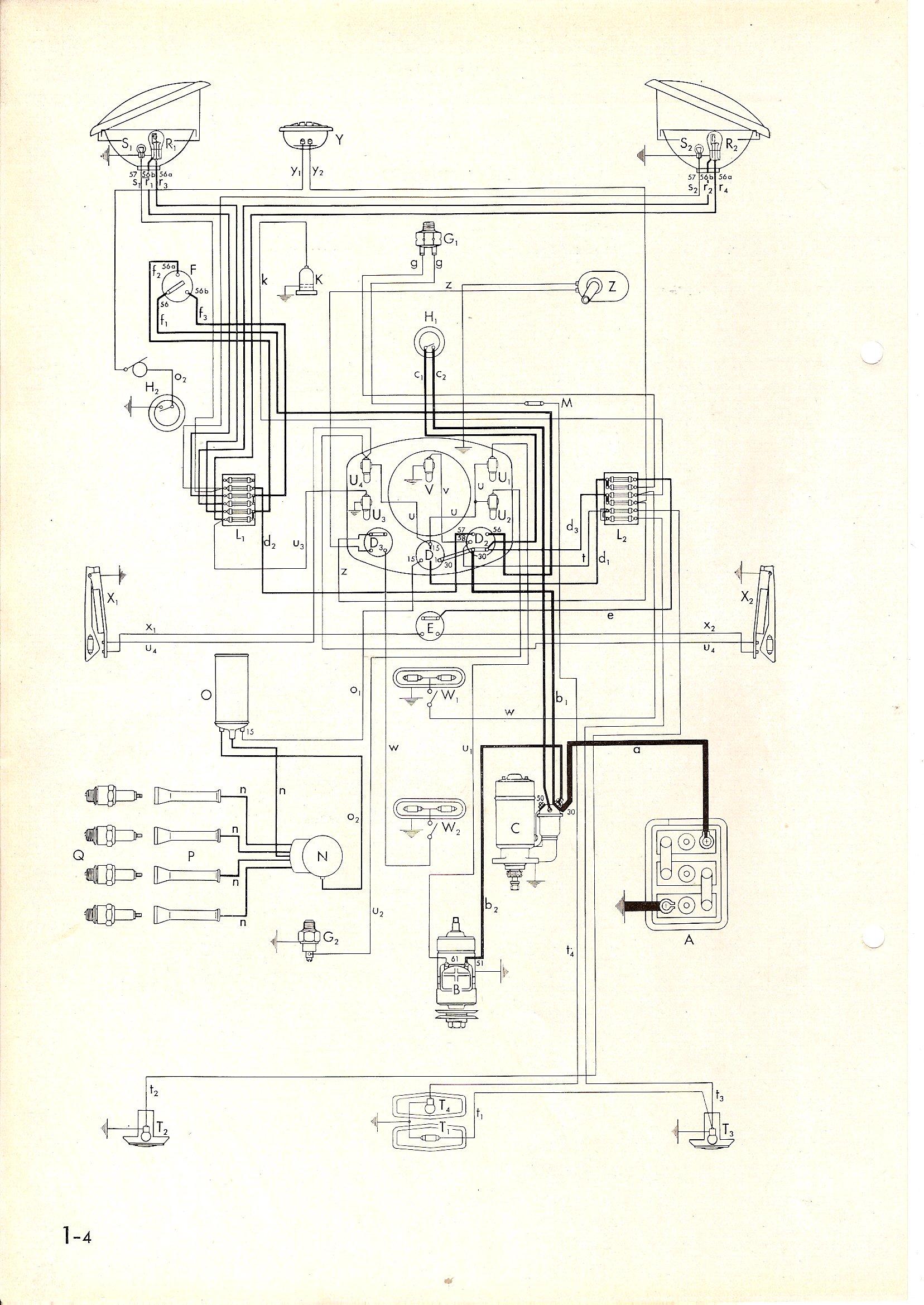 vw t1 wiring diagram fender pj electrics beetle negative earth page 2 forum
