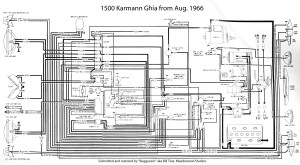 TheSamba :: Karmann Ghia Wiring Diagrams