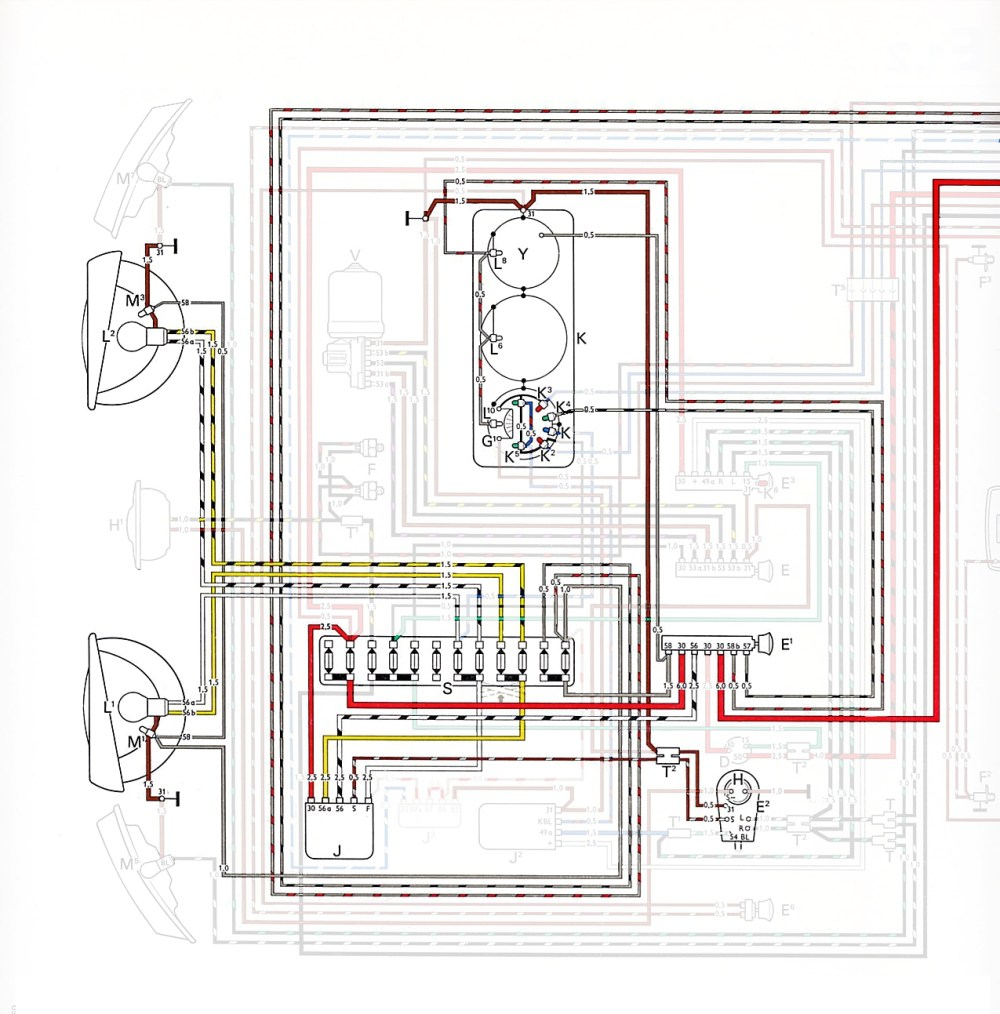 medium resolution of thesamba com type 2 wiring diagrams car