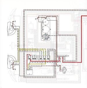 1969 VW Beetle Wiring Diagram