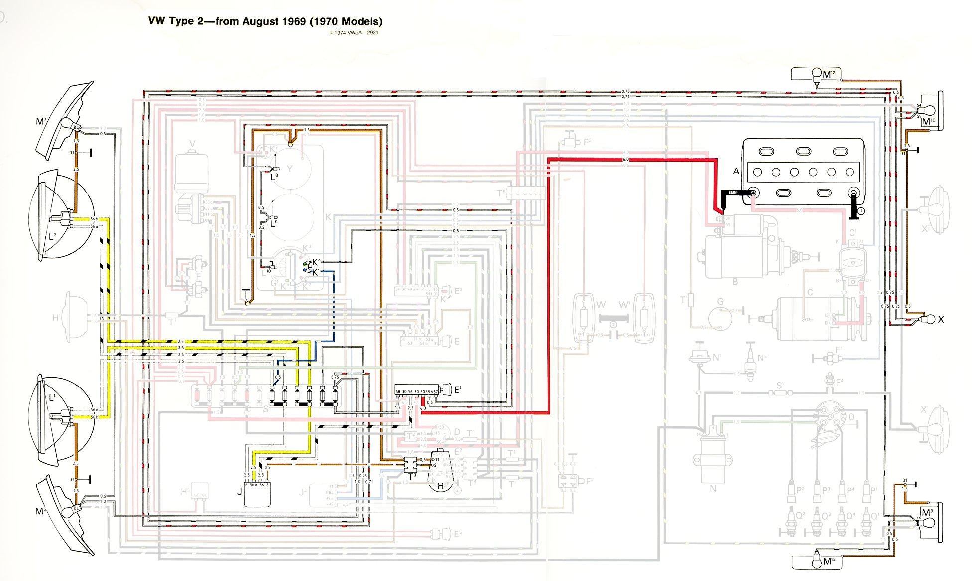 1973 Ford Truck Radio Wire Diagram Thesamba Com Type 2 Wiring Diagrams