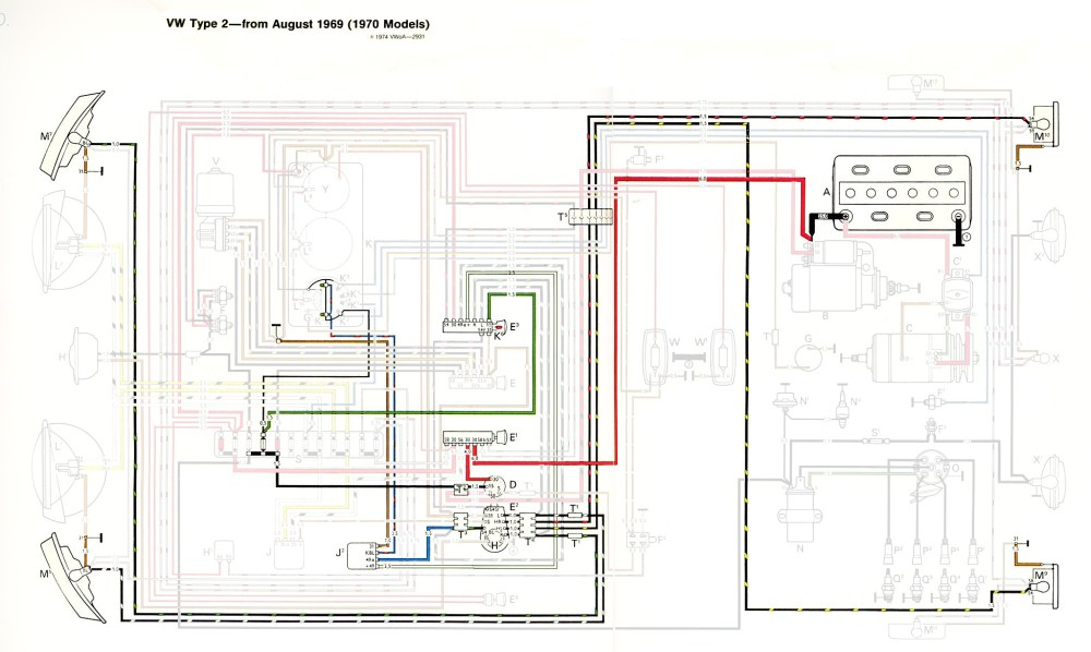 medium resolution of thesamba com type 2 wiring diagrams 1958 vw van wiring diagram
