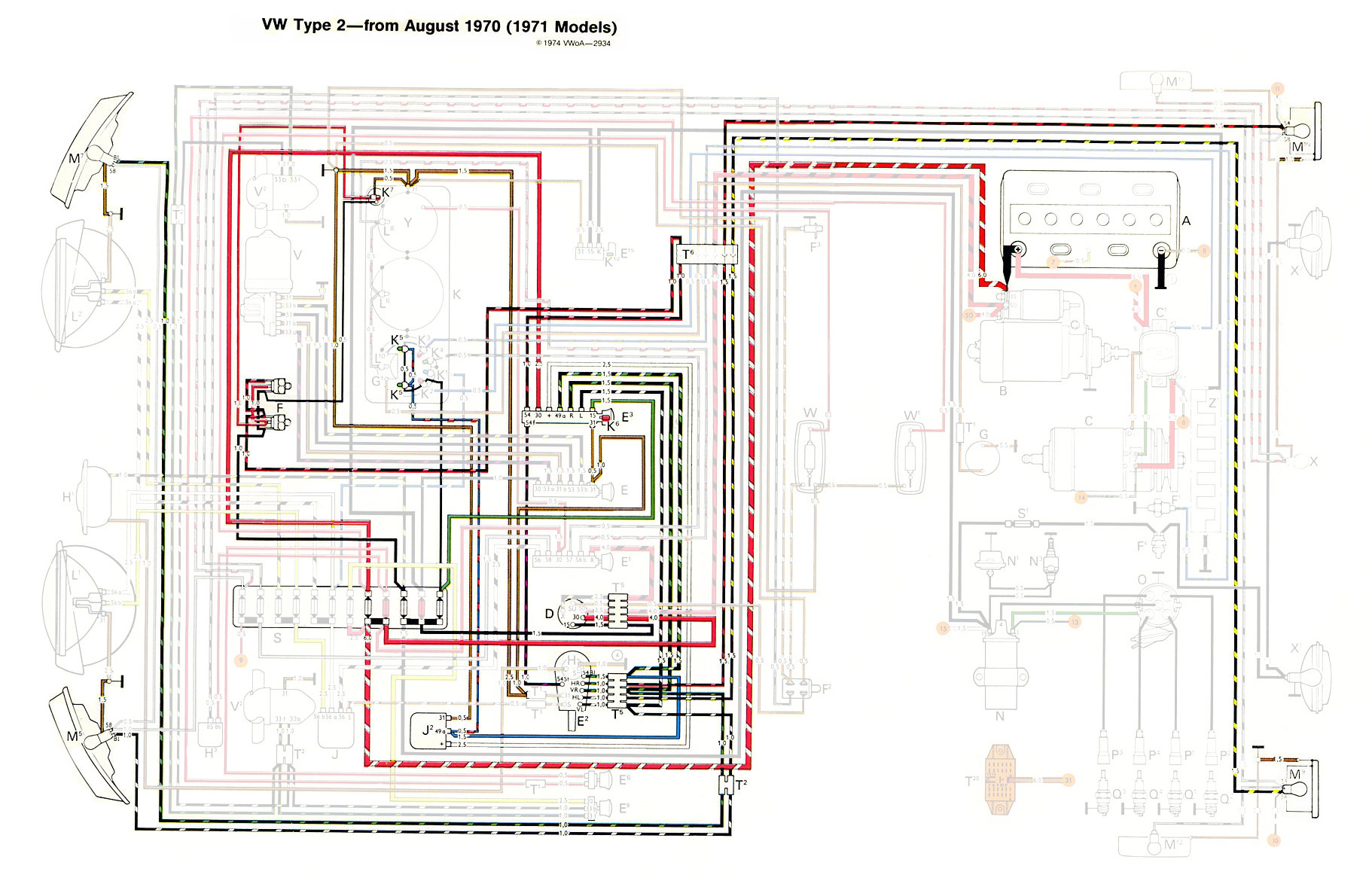 71 vw bus wiring diagram simplex addressable fire alarm system fuel line free engine image for user manual