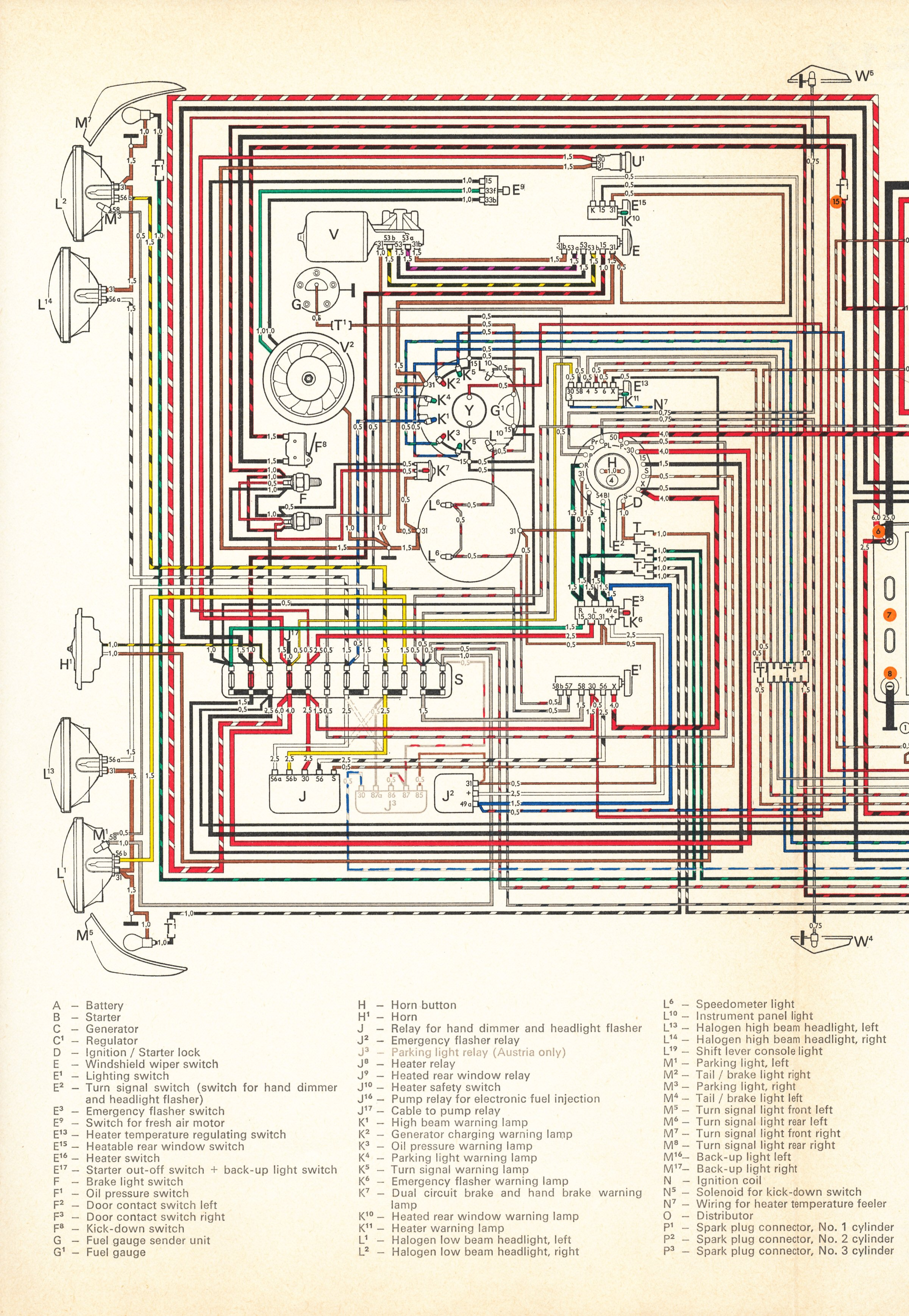 1996 Jeep Fuse Box Diagram Thesamba Com Type 4 Wiring Diagrams