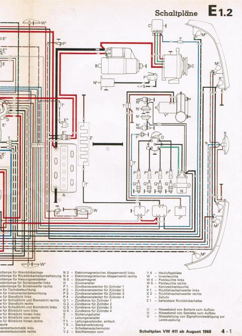 small resolution of vw type 4 wiring diagram