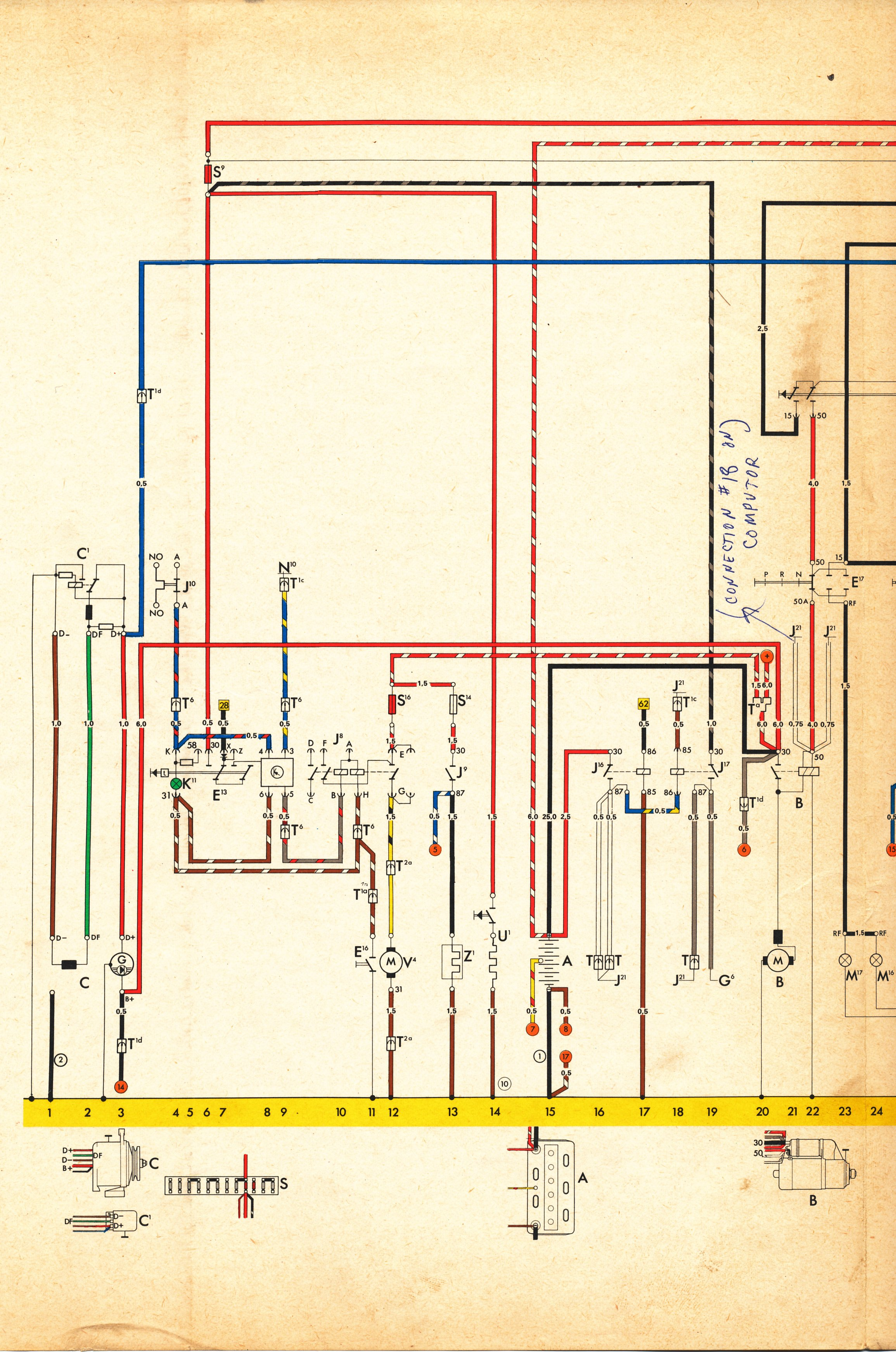 vw type 3 fuel injection wiring diagram 4 prong cane get free image about