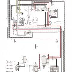 Electrical Wiring Diagram Automotive Mitsubishi Outlander Radio Thesamba.com :: Karmann Ghia Diagrams