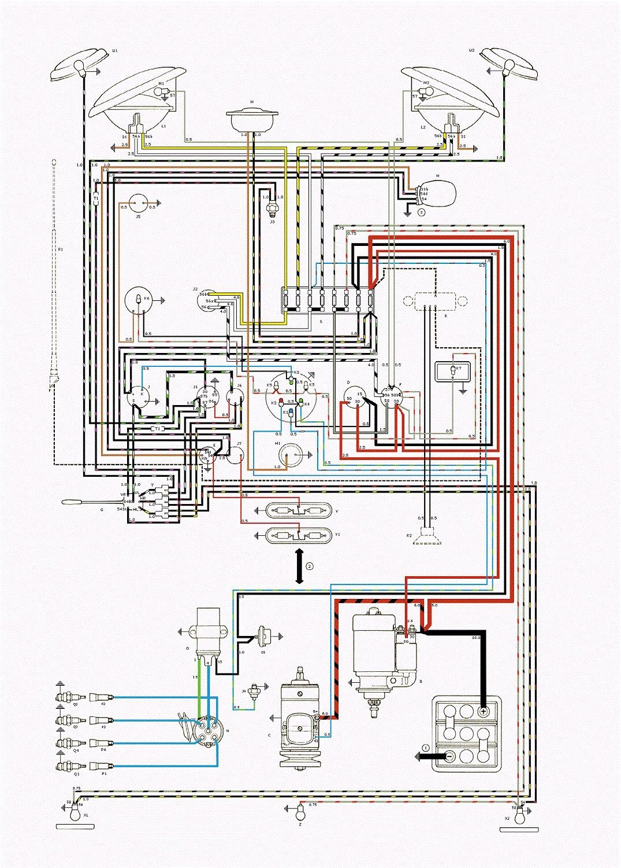 68 Buick Wiring Diagram Schematic Thesamba Com Type 2 Wiring Diagrams