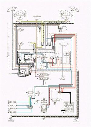 Electrics Hazard switch 66 bus loom  VW Forum  VZi