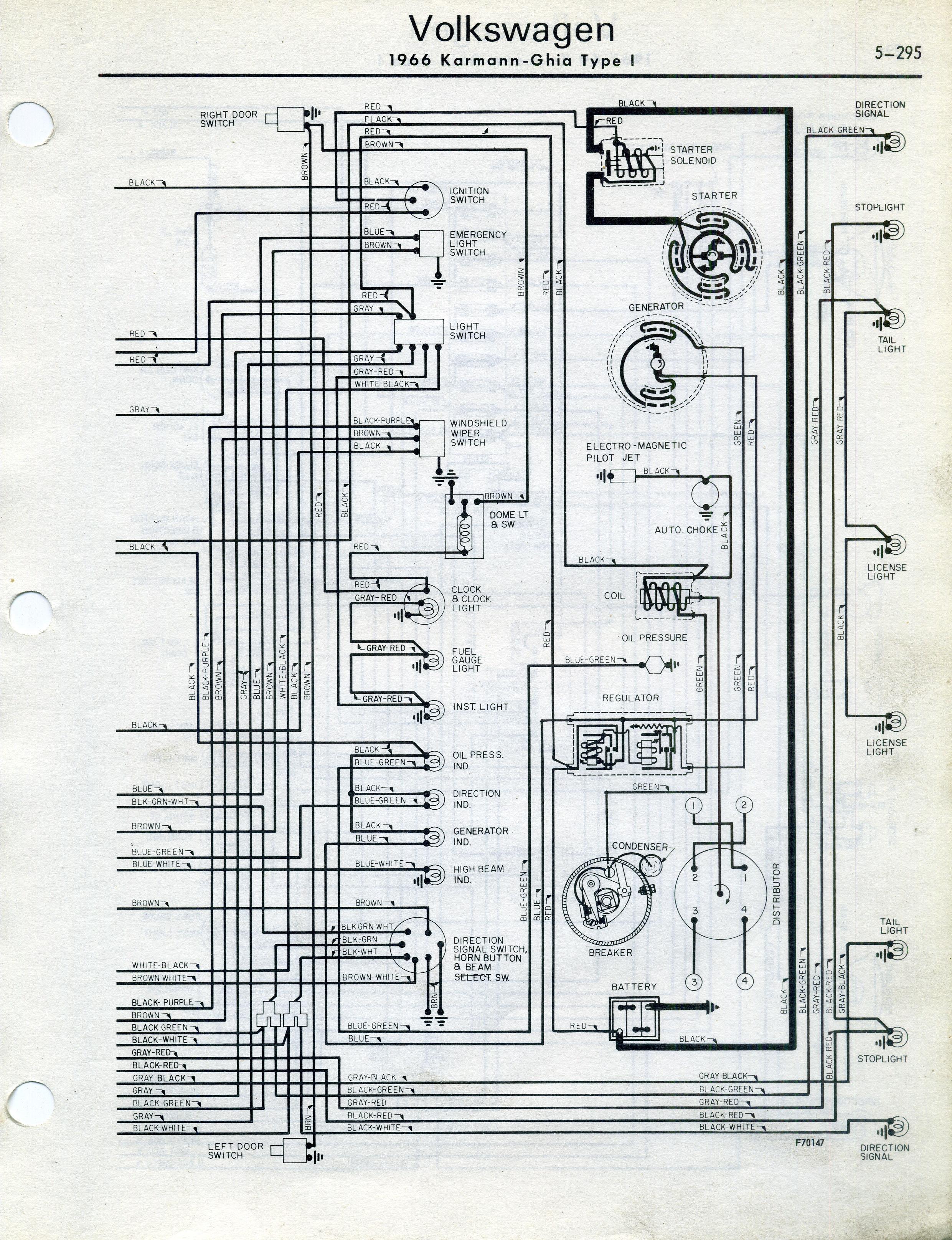 72 karmann ghia wiring diagram picture