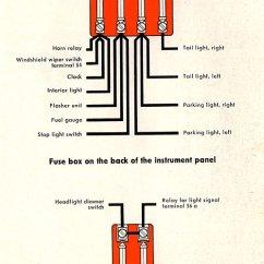Wiring Diagram For Flasher Relay Trailer Breakaway Thesamba Com Karmann Ghia Diagrams 1958 June