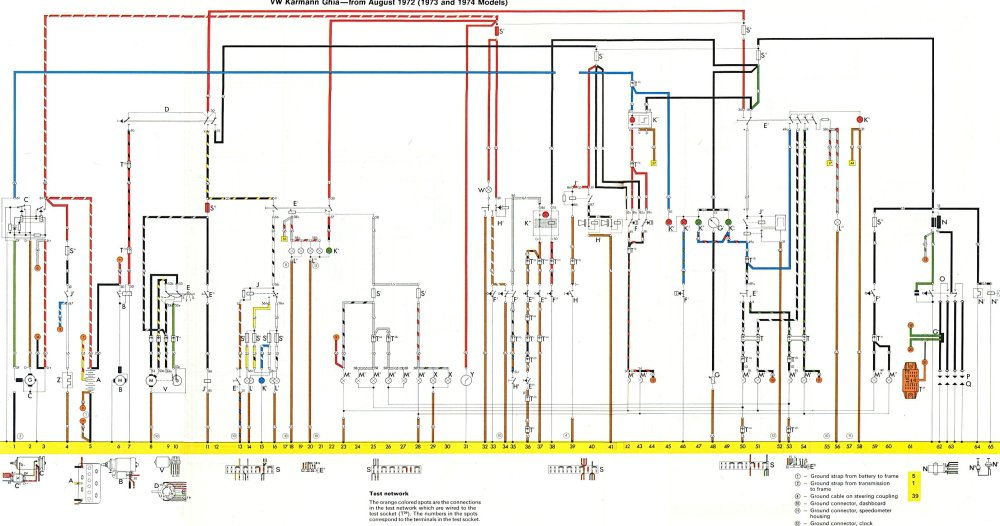medium resolution of thesamba com karmann ghia wiring diagrams rh thesamba com 1974 corvette wiring diagram pdf 1974 corvette