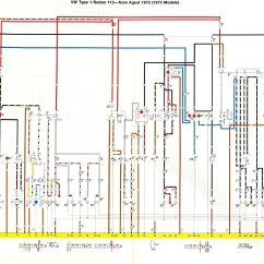Volkswagen Caddy Wiring Diagram Planaria Labeled Thesamba Beetle Late Model Super 1968 Up View