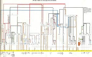 1973 VW Beetle's Wiring Diagram  Key | Schematic Wiring