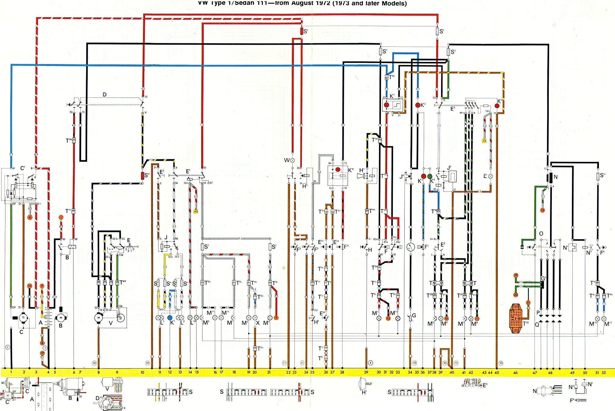 1974 super beetle wiring diagram three way where can i find a for vw yahoo