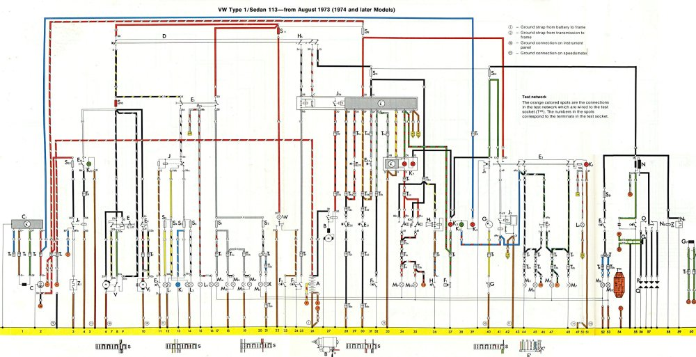 medium resolution of 1974 vw super beetle wiring diagram wiring diagram