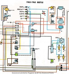 thesamba com type 1 wiring diagrams 70 vw bug turn signal wiring [ 2531 x 1878 Pixel ]