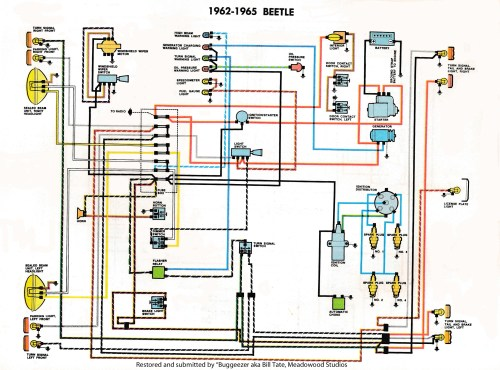small resolution of thesamba com type 1 wiring diagrams 1975 volkswagen beetle wiring diagram free download