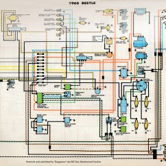 1968 Vw Type 1 Wiring Diagram Gmc Canyon Stereo Thesamba Diagrams