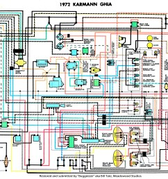 thesamba com karmann ghia wiring diagrams 72 73 72 73 vw wiring harness karmann ghia beetle k70 1972 1973 [ 4129 x 3132 Pixel ]