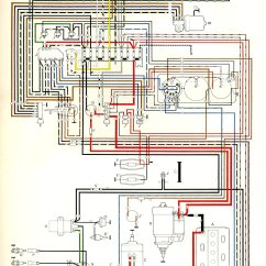 1972 Vw Bus Wiring Diagram 1995 Ford Mustang Radio Thesamba Com Type 2 Diagrams