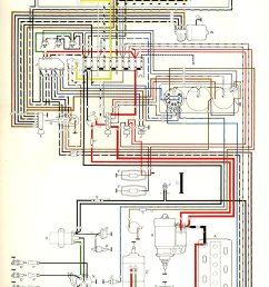thesamba com type 2 wiring diagrams1970 vw bus wiring diagram 7 [ 1070 x 1588 Pixel ]