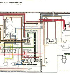 thesamba com type 2 wiring diagrams1970 vw bus wiring diagram 4 [ 1952 x 1168 Pixel ]