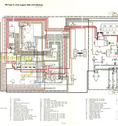 thesamba com type 2 wiring diagrams vw fuse box diagram vw 1971 fuse diagram [ 1978 x 1558 Pixel ]