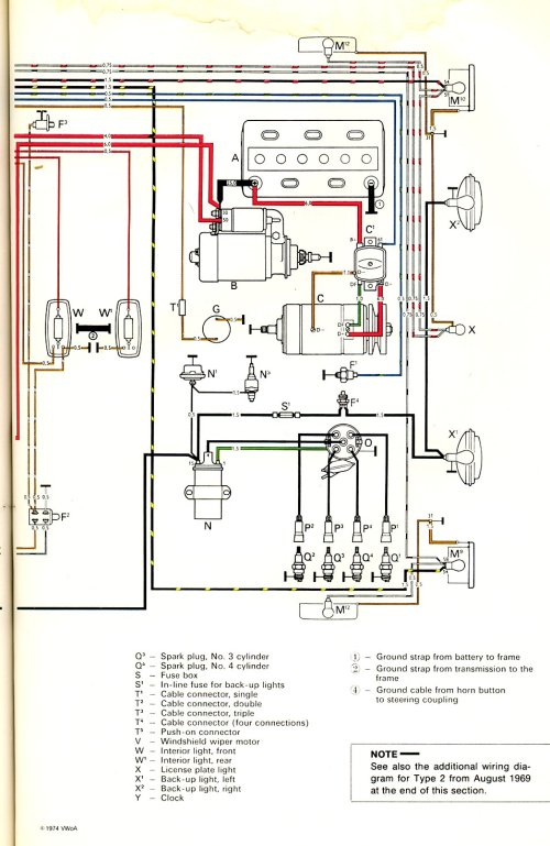 small resolution of thesamba com type 2 wiring diagrams marine alternator wiring diagram volkswagen alternator wiring diagram